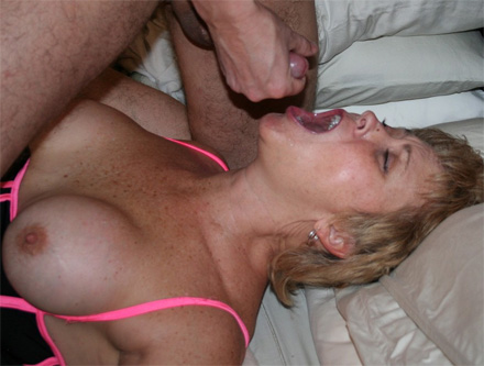 Angela cum filled throat